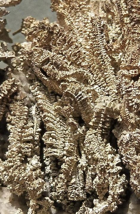 Gesuchtes Edelmetall: Silberhaltiges Gestein aus dem Südschwarzwald  | Foto: Werner Störk