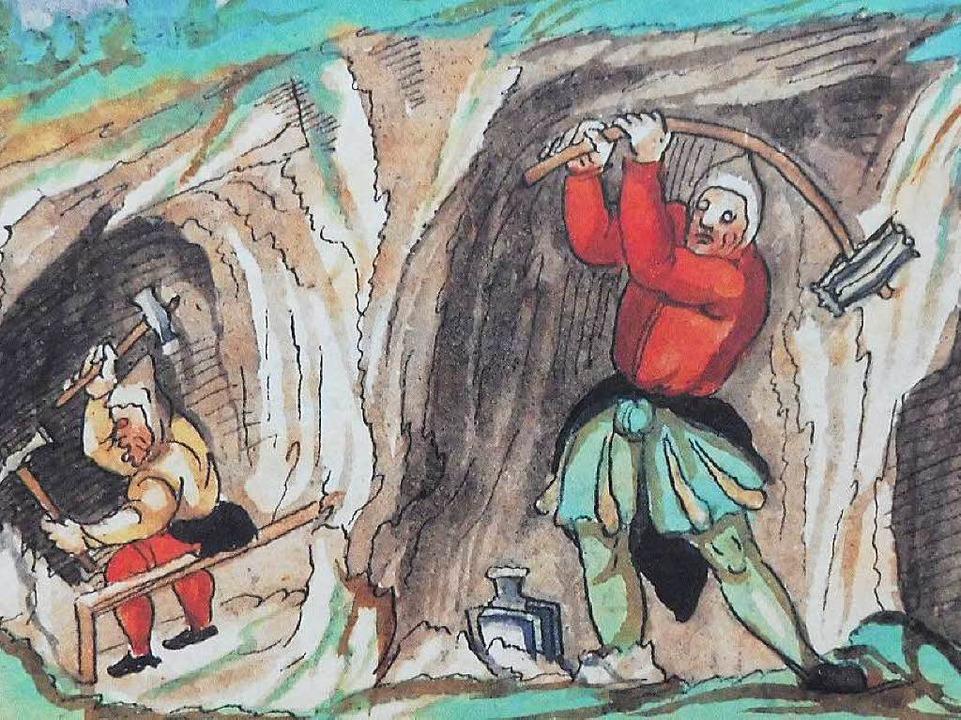 Im Kleinen Wiesental wurden im Mittela... Kobalt, Baryt und Eisenerz gefördert.  | Foto: Werner Störk