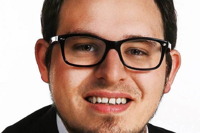 Raphael Pfaff will Bürgermeister in Wyhl werden