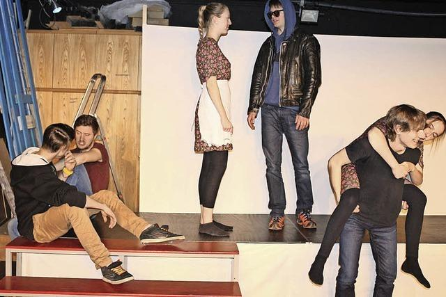 Die Jugendgruppe entstaubt Peer Gynt