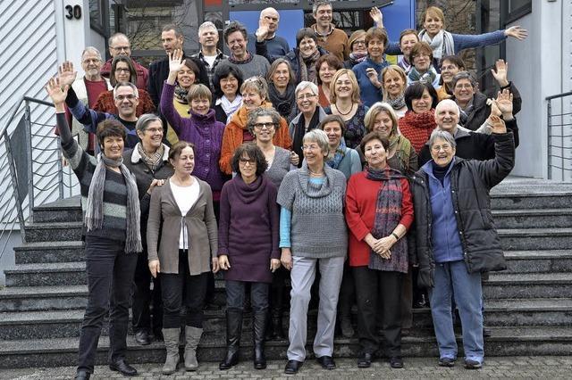 Die Chöre Vokal Total und Intakt in der Waldorfschule