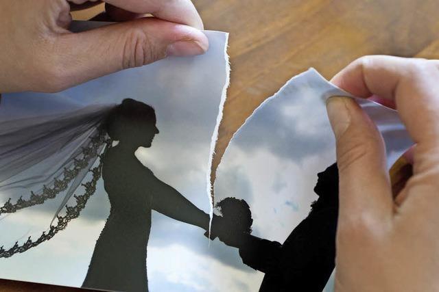 Weniger Scheidungen