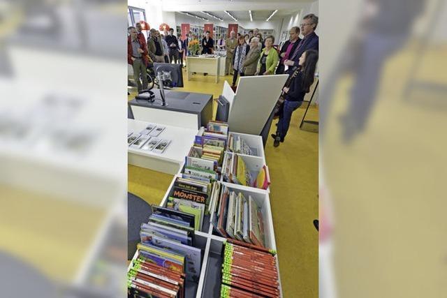 Die Mooswälder Stadtteilbücherei ist innerhalb der Wentzingerschulen erneut umgezogen