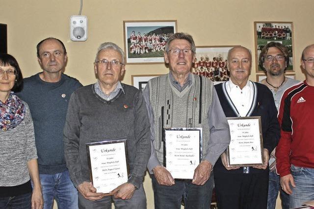 Vier neue Ehrenmitglieder