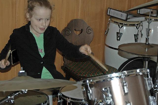 Klarinette, Tenorhorn oder doch lieber Schlagzeug