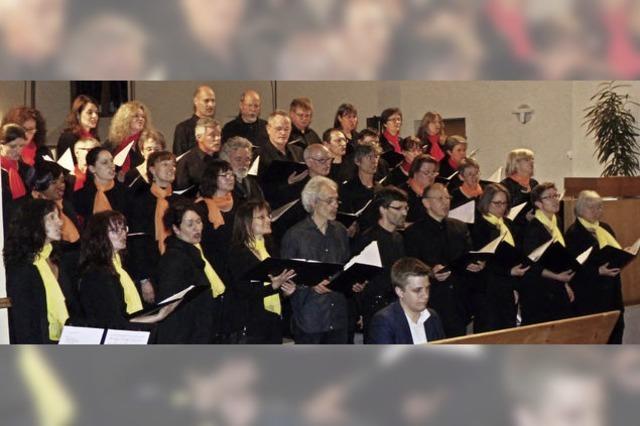 Musik, die Publikum und Sängern Spaß macht