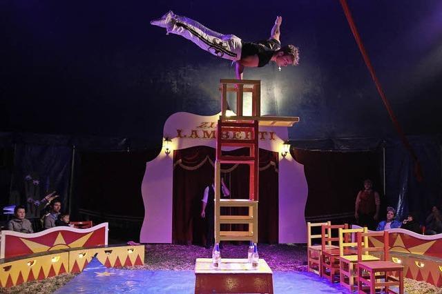 Ein Zirkus buchstäblich zum Anfassen