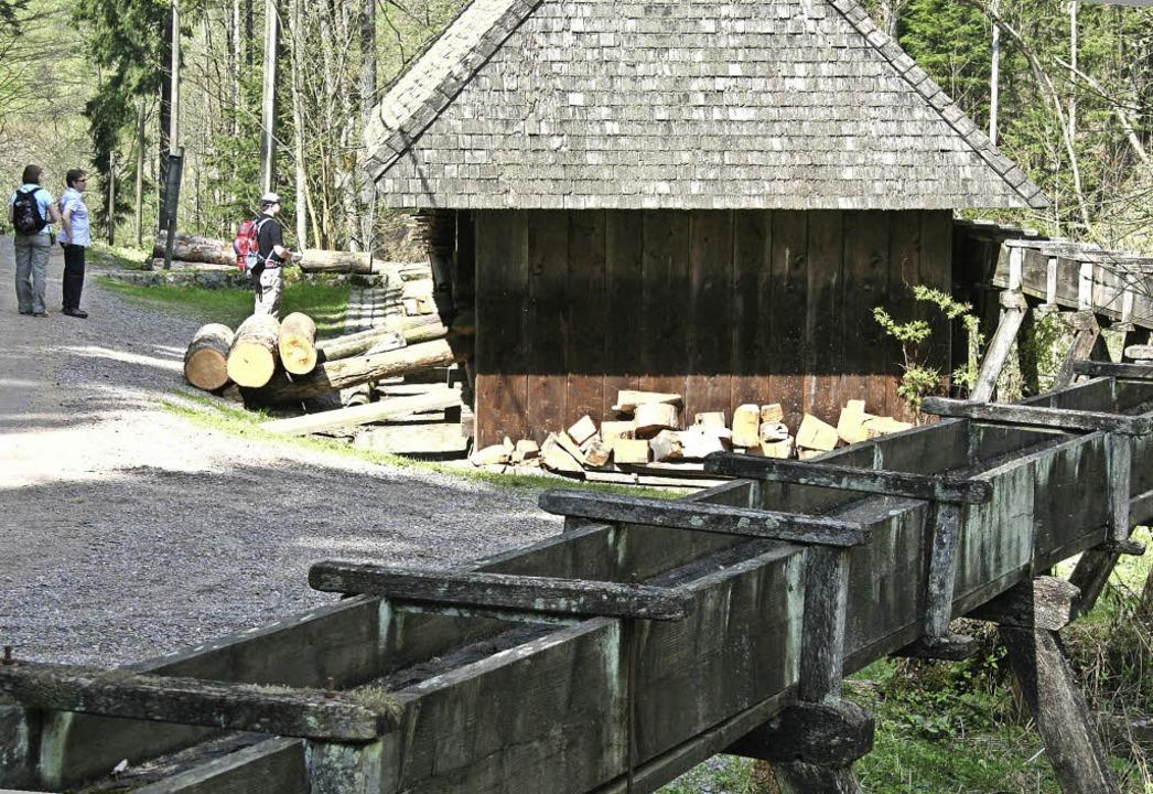 Die Klingenhofsäge im Löffeltal ist ei...e, die der Verein Heimatpfad betreut.   | Foto: Dieter Maurer