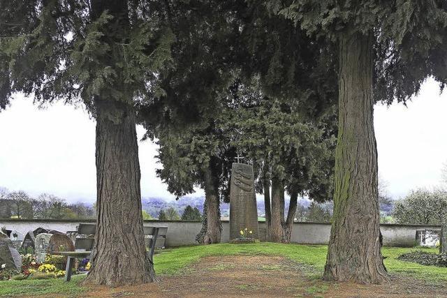 Bürger beteiligen sich an neuem Friedhofskonzept