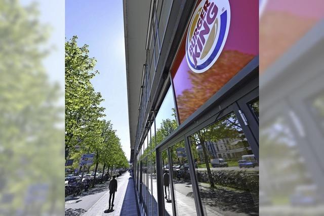 Burger King eröffnet in der Bahnhofzeile eine Filiale