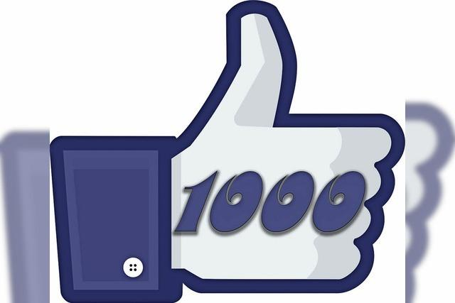 Wir danken für 1000