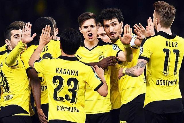 BVB zieht nach 3:0-Sieg gegen Hertha BSC ins Endspiel ein
