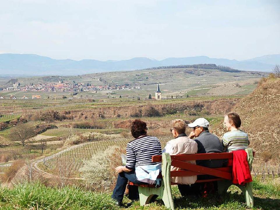 Feriengäste schätzen am Kaiserstuhl vor allem die Natur und den Wein.  | Foto: hans-jürgen truöl