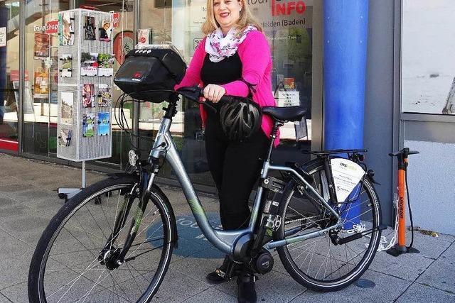 Tourist-Info vermietet jetzt auch E-Bikes
