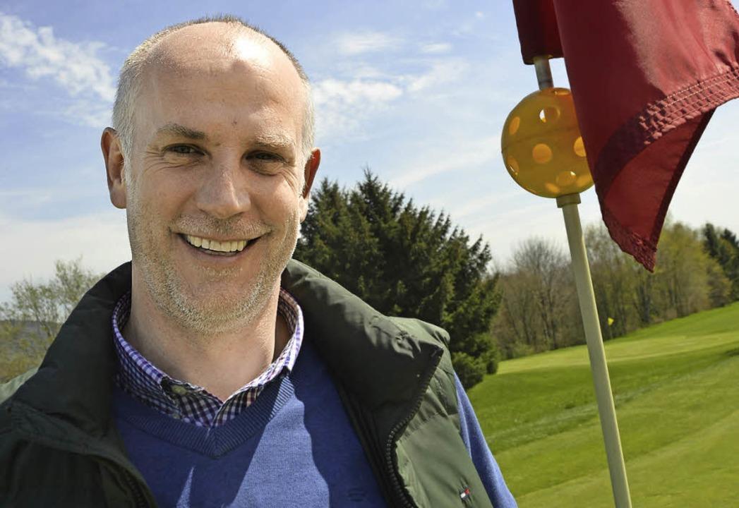 Ulf Gräfe ist der Manager im  Golfclub Rickenbach.  | Foto: Krug