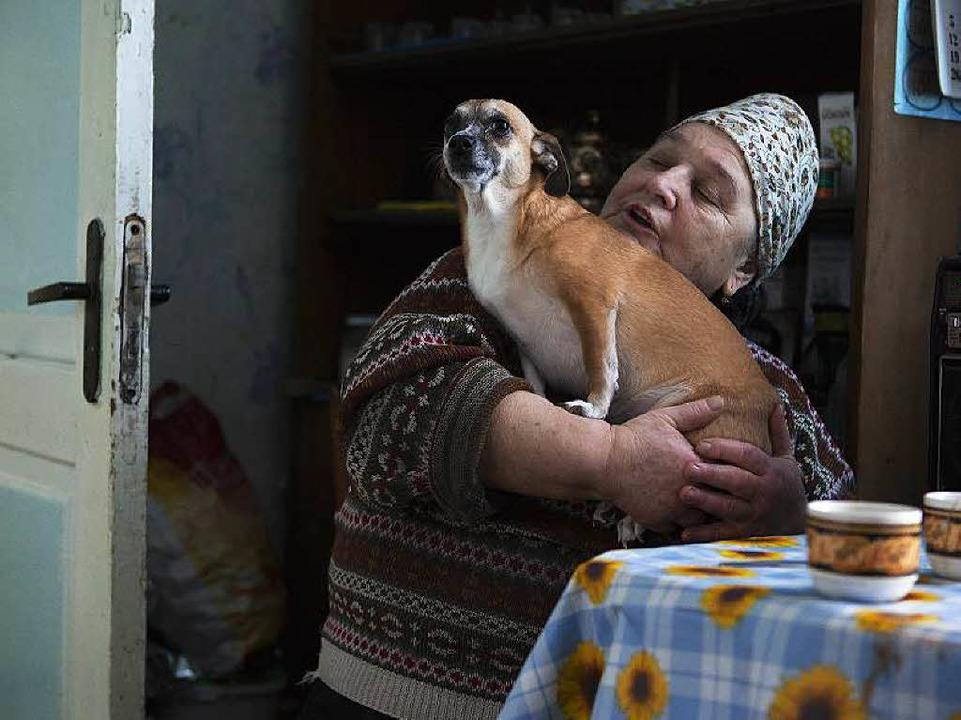 Sie ist in Tschernobyl geboren und hie...ja mit Dana, ihrer einzigen Gefährtin.  | Foto: William Veder