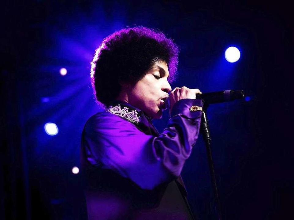 Prince beim Montreux-Festival 2013.  | Foto: dpa