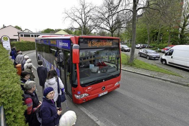 Die Linie 14 fährt jetzt wieder häufiger nach Weingarten