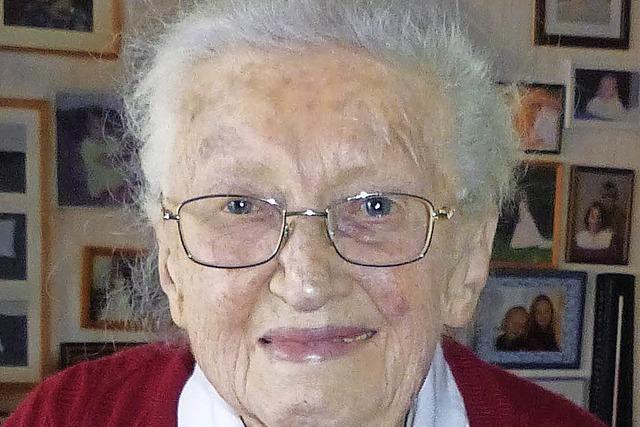 Jubilarin feiert in alter Frische 90. Geburtstag
