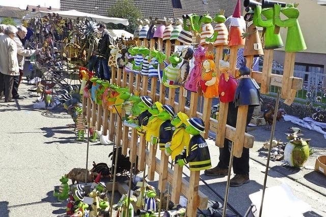 Frühlingsmarkt in Ichenheim