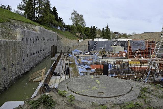 Regenüberlaufbecken wird um knapp 800.000 Euro teurer als geplant