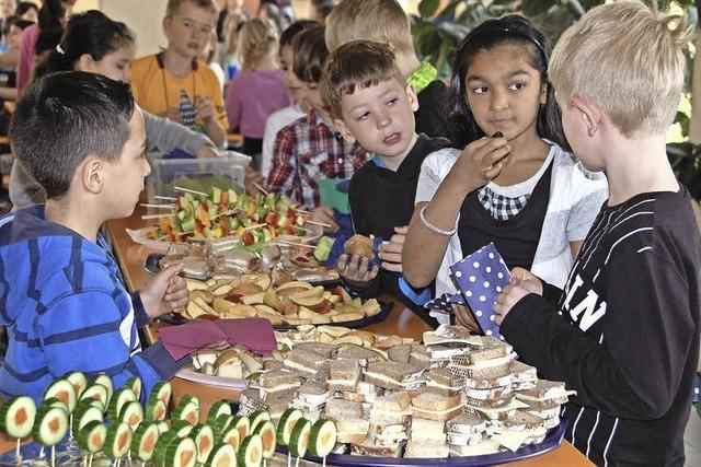 Frische Kost für die Kinder