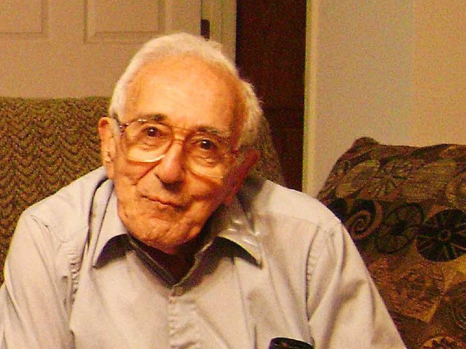 Fred Mayer im Jahr 2009    Foto: Wolfram Zimmer