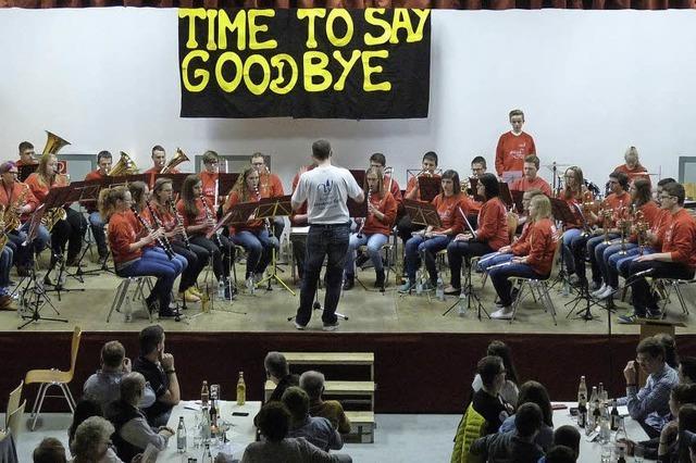 Ovationen für den scheidenden Dirigenten