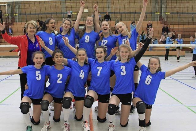 Volleyballerinnen fahren zur Deutschen Meisterschaft