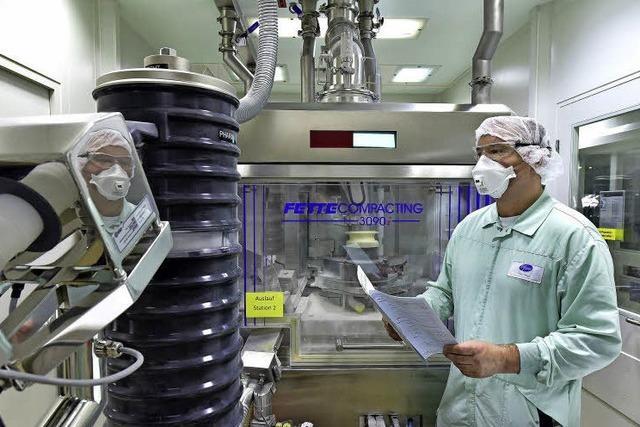Beim Pharmakonzern Pfizer ist das Werk Freiburg oft die erste Wahl