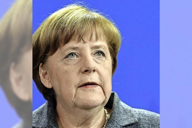 Merkel reist an die Grenze zu Syrien