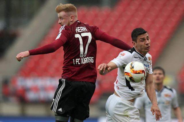 2. Liga: Nürnberg gewinnt – SC-Freiburg-Aufstieg vertagt