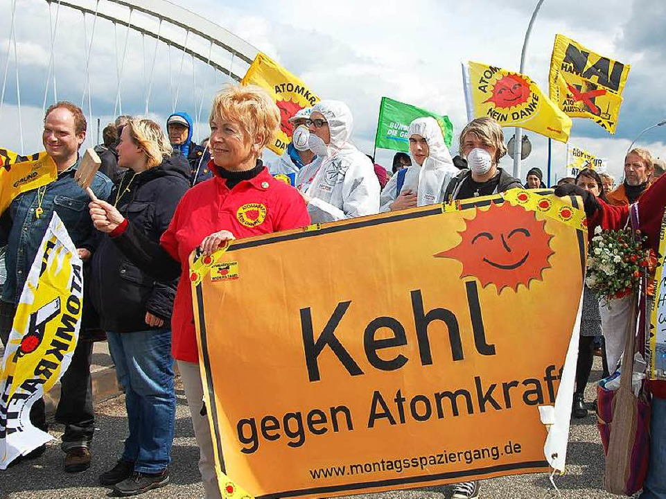 Anti-Akw-Demo in Kehl
