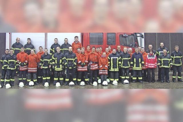 25 Neue für die Feuerwehren