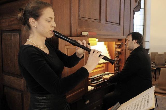 Feier für den Klangkörper der Barockkirche
