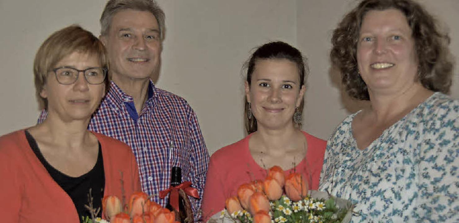 Bei der Jahresversammlung wurde gewähl...alandi und Ute Zirrgiebel  (v.l.n.r.).  | Foto: Andrea Steinhart