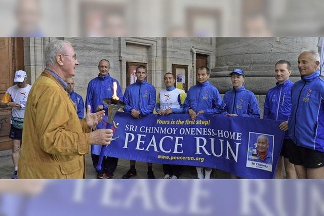 Laufen für den Frieden
