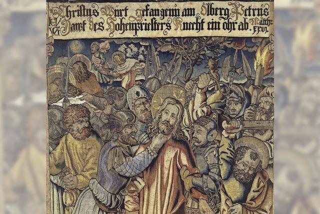Die um 1600 gewebte Gengenbacher Passion ist vermutlich in protestantischem Auftrag entstanden