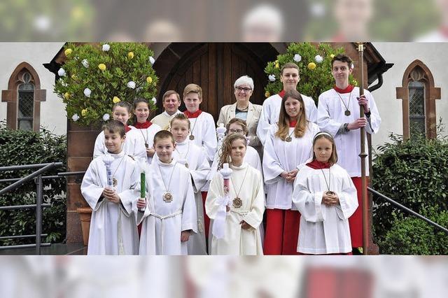 Erstkommunion in Hausen