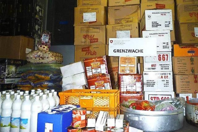 Grenzwache stoppt vollgepackte Schmugglerwagen