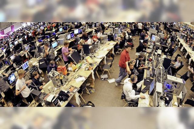 Virtuelle Wettkämpfe am Computer