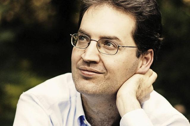 Pianist Dénes Várjon in Badenweiler