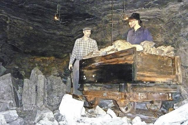 Bergwerk öffnet Pforten