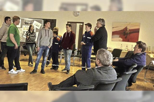 Die Jugendlichen haben viele Ideen und Wünsche