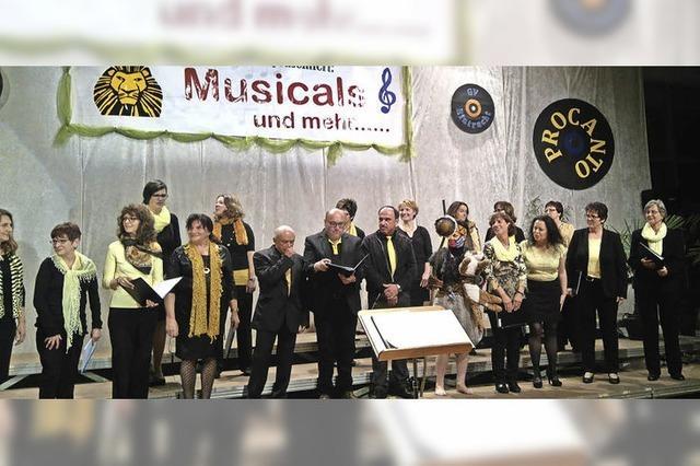 Tosender Beifall für Musicalmelodien