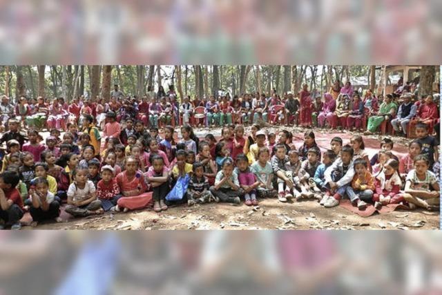 Weiler Nepalhilfe ist so nötig wie vor einem Jahr