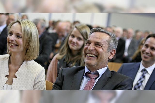 Hohberg feiert seinen Bürgermeister