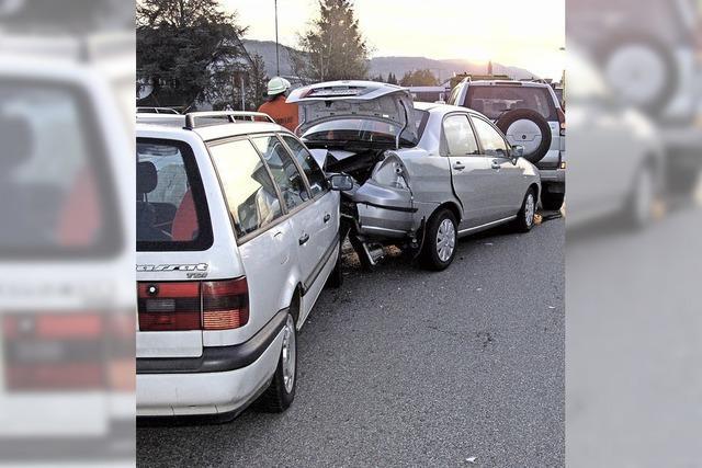 Über 200 Unfälle in Steinen