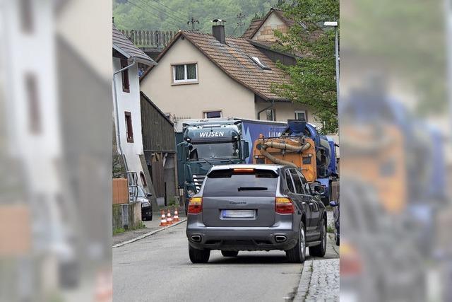 Zwei Baustellen behindern Verkehr