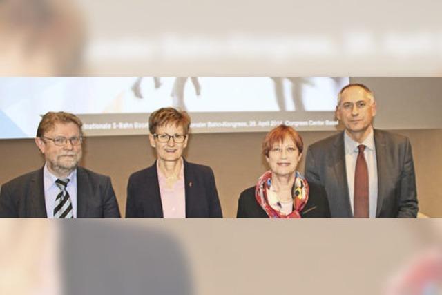 Ausbau der trinationalen Regio-S-Bahn Basel macht Fortschritte
